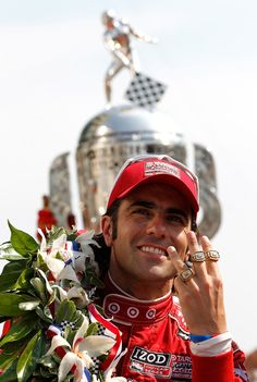 Dario Franchitti -Winner of the 2012 Indianapolis 500 Follow us @ https://www.pinterest.com/livescores/