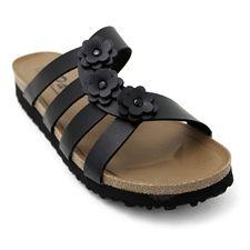 3f8c0076027a Pali Hawaii Women s PH 1685 Slide Sandal-Black-Size 6 Pali Sandals