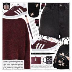 """""""style"""" by lena-volodivchyk ❤ liked on Polyvore featuring Ksubi, 8, adidas, Edward Bess, Accessorize, Boohoo, Jac Vanek, Topshop and NYX"""