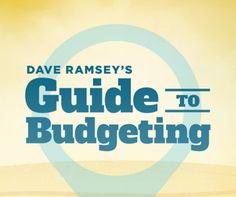 Free Dave Ramsey Budgeting Guide- AWESOME!