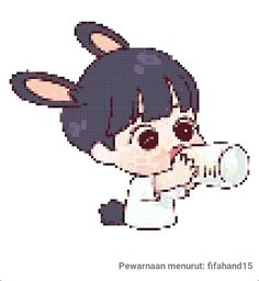Line Friends, Pixel Art, Mickey Mouse, Disney Characters, Fictional Characters, Bts, Scenery, Fantasy Characters, Baby Mouse