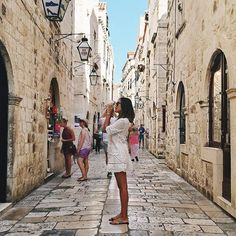 Exploring the streets of Dubrovnik. Wanderlust Travel, Adventure Awaits, Adventure Travel, Oh The Places You'll Go, Places To Travel, I Want To Travel, To Infinity And Beyond, Dubrovnik, Adventure Is Out There