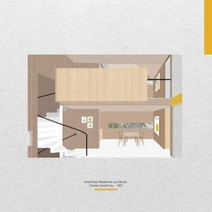Gwathmey Residence and Studio / Charles Gwathmey - 1967 by Carla Martinez Sastre Loft, Interior Design, Studio, Instagram, Home Decor, Argentina, Blue Prints, Nest Design, Decoration Home