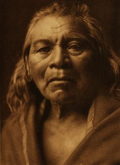 Half Moon - Nez Perce - 1910 by Edward Curtis