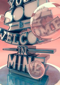 /// Typography 3D ///   Alexis Persani, France
