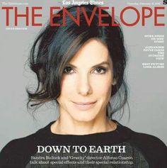 Sandra Bullock, The Envelope Magazine [United States] (17 February 2014)