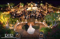 hummingbird nest ranch wedding, grand entrance