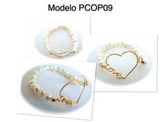Pulsera de chapa de oro 14k con perla natural clave PCOP09, ajustable, precio $95, x docena $85 c/u