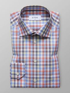Eton® is updated weekly with brand new shirts & accessories from all our collections. You'll find all the lastest arrivals from us at Eton Shirts® here. Stylish Men, Men Casual, Cute Love Images, Check Shirt, Business Casual, Menswear, Slim, Shirt Dress, Mens Fashion