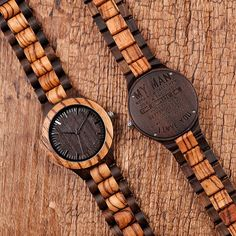 Men's Engraved Watch Great Gifts For Men, Gifts For Husband, Gifts For Father, Gifts For Him, Watch Engraving, Wood Engraving, Best Watches For Men, Wooden Watch, Boyfriend Gifts