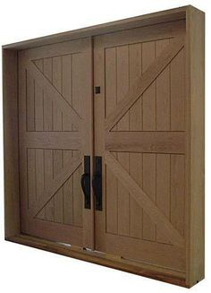 Barn Style Double Exterior Door Homedecor For Pricing All Sizes And Species Available