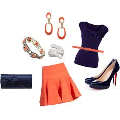 navy, created by debbie-shrodes-hreha on Polyvore
