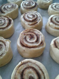 Cinnamon rolls - the american way