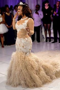 Exclusive Photos From Kandi & Todd's Wedding | Nigerian Wedding