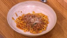 Mamma's bolognese with roasted tomato sauce