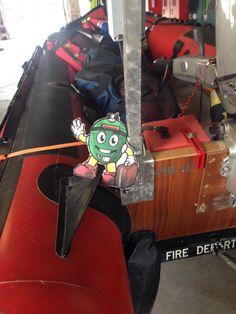 Mr. EGGhead, fire fighter!