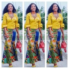 20+ Current Ankara Styles You Will Surely Love To See - Ankara collections brings the latest high street fashion online