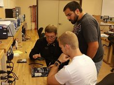 In our Computers for Technicians course, students learn about motherboards...you guys rock!