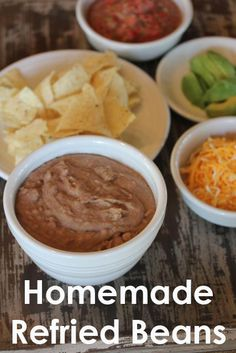 Gluten Free Menu Plan - August 4th -10th - Including this Slow Cooked Homemade Refried Beans