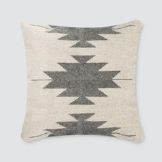 Black and White Lumbar Pillow | Striped Pattern – The Citizenry