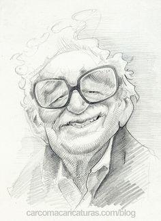 Gabriel García Márquez #carcoma_caricaturas #Macondo #Gabo #CienAñosdeSoledad
