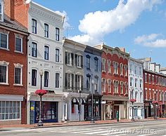 Small Town Main Street 9 Royalty Free Stock Images - Image: 17506029
