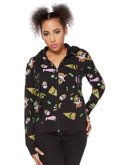 Twisted Fast Food Goth Hoodie | RK Edge, Home of Psychobilly Fashion Clothing