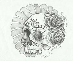 sugar skull by sasan-ghods.deviantart.com on @deviantART