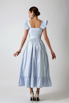 Elegant Dresses, Pretty Dresses, Beautiful Dresses, Vintage Dresses, Casual Dresses, Fashion Dresses, Summer Dresses, Mode Jeans, Mode Vintage