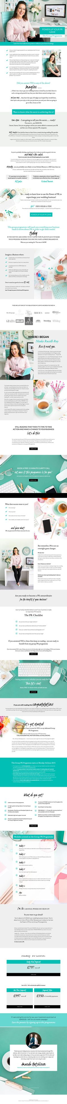 Private coaching client of Segerius Bruce Coaching. Sales page for Group Program launch. Brand Strategist, Personal Branding, Coaching, Web Design, Product Launch, Group, Projects, Training, Log Projects