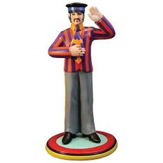 Rare 1999 Vandor Beatles Yellow Submarine Sgt Pepper Lava