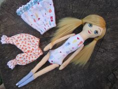 cloth doll rag doll gift for girl dress up doll by GabYhandmade