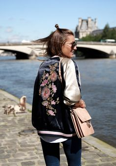 BOMBER LOVER – LA SEINE , PARIS