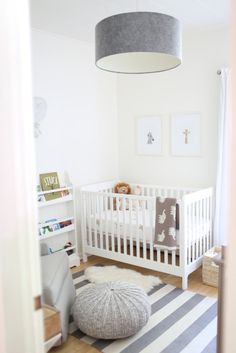 """Oliver's Soothing Nursery + Meg's """"Mom Cave"""""""