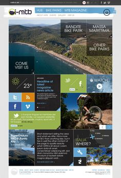 I-MTB by Andrew Couldwell, via Behance