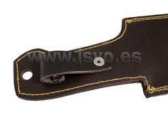 Funda artesana de cuero FC ref. 27269 para machete garfeño 395x80mm ref. 52702 con asa para el cinto. www.jsvo.es