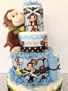 43 Best Monkey Theme Baby Shower Images Baby Shower Themes
