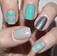 DQN Blog: Crafty Zig Zags - Making Nail Decals Part 1
