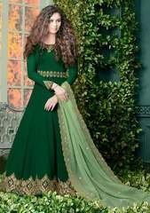 Looking to buy Anarkali online? ✓ Buy the latest designer Anarkali suits at Lashkaraa, with a variety of long Anarkali suits, party wear & Anarkali dresses! Robe Anarkali, Costumes Anarkali, Anarkali Suits, Eid Dresses, Indian Dresses, Indian Outfits, Dresses Online, Long Dresses, Simple Dresses