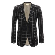 ALEXANDER MCQUEEN Jackets & Coats Silk Check Jacket