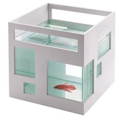 Dear Santa...  Umbra Fish Hotel Aquarium