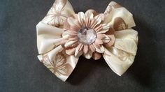 Butterfly and Flowers Hair Bow for Girls  by GloriaMillerCreation, $7.00
