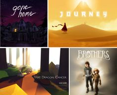 """""""Gone Home,"""" """"Brothers,"""" """"Journey"""" and """"That Dragon, Cancer"""" are games that can help students empathize with others by experiencing others' struggles and emotions."""