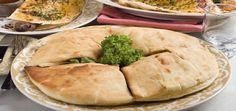 Khobz - Arabic Bread is a popular Arabic bread served with soup and salad.