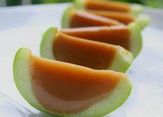 Manzanas de caramelo y gelatina sin azúcar añadido, golosinas saludables, fáciles de preparar y riquísimas. Te contamos el paso a paso.