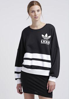 adidas Originals BERLIN 3STRIPES  - Sweatshirt - black for £43.99 (06/01/17) with free delivery at Zalando