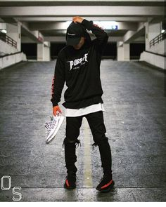 """7,659 Likes, 35 Comments - #OutfitSociety (@outfitsociety) on Instagram: """"Via @cultureandvibes Presents @kazztamura #OutfitSociety. Champion Cap Purpose Tour Hoodie FOG…"""""""