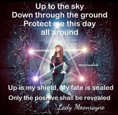 Magickal chant shared from facebook. Credit to Lady Moonrayne.
