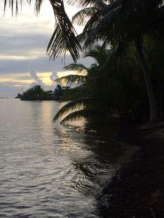 Tahaa Polynésie française matinée paisible