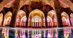 Fotógrafo amador capta simetria de mesquitas no Irã em imagens incríveis